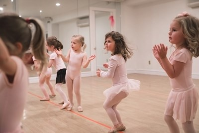 Kinderdancers in action